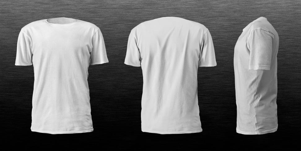 plantilla de camiseta para photoshop