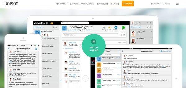 aplicación para trabajar en equipo online