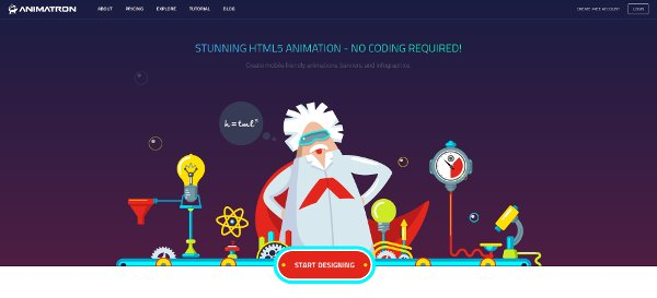 crear animaciones en html5