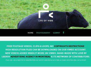 biblioteca de vídeos gratis en alta resolución
