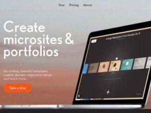 ReadyMeg crear un micro sitio web