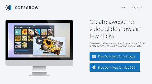 Cofeshow crear video presentaciones