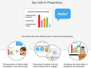 presentious crear presentaciones con voz