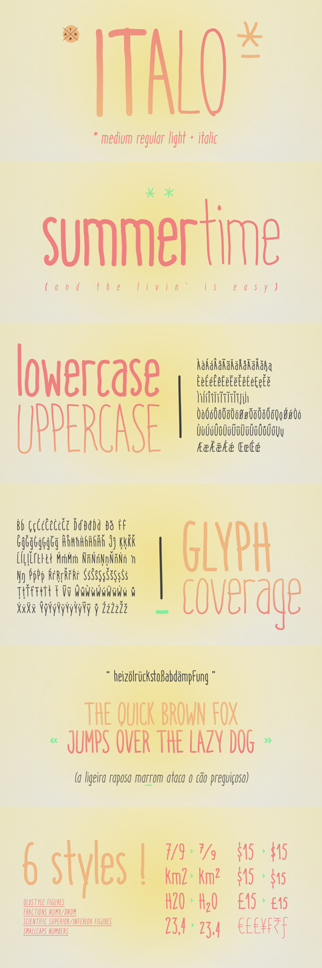 italo una tipografia divetida
