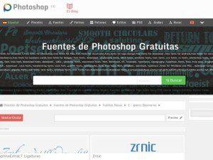 recursos gratis para diseñadores de Photoshop cc