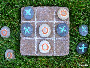 x cero con rocas