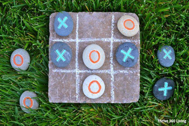 Juegos al aire libre - X cero con rocas