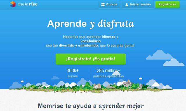Memrise aprender idiomas gratis