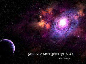 Brocha de nebulosa para Photoshop