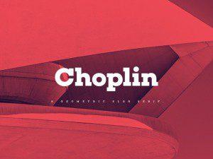 choplin fuente gratis