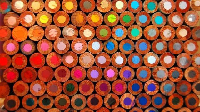 fondos de lapices de colores