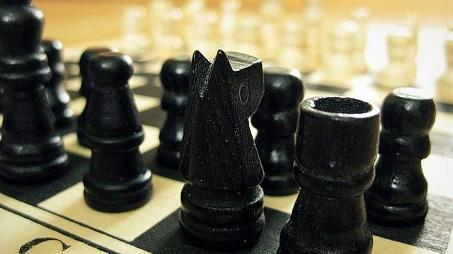Como un juego de ajedrez