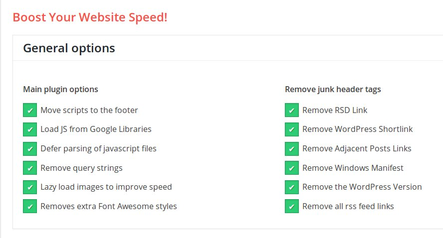 Configuración para comprimir archivos CSS y JavaScript
