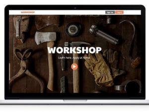 crear un sitio web para un evento sin saber programar