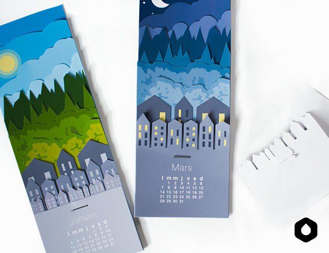 calendario compacto para imprimir