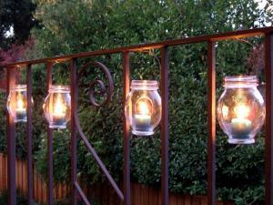 iluminar el campamento durante la noche