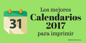 Colección de calendarios 2017