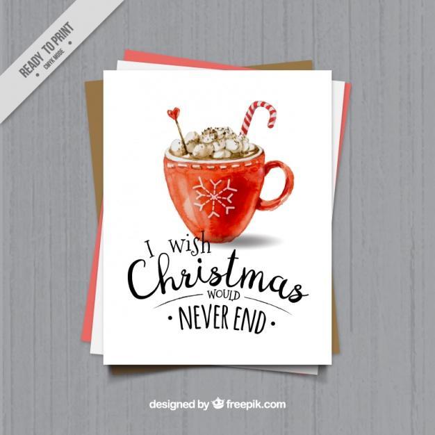 Tarjeta graciosa para navidad
