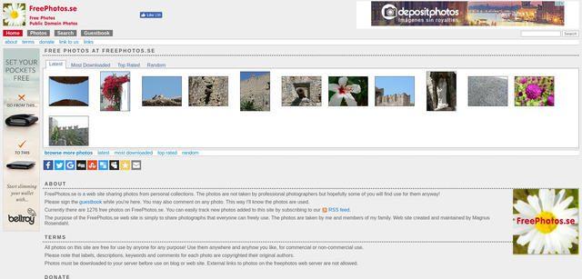 Fotos de dominio público para bajar gratis