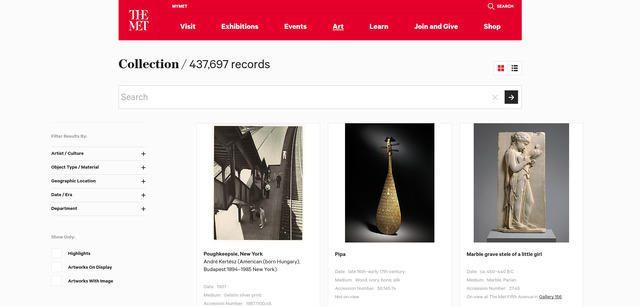 Banco de imágenes gratuitas del museo de arte de New York