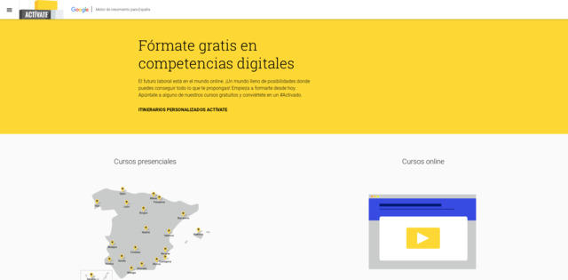 Activate con Google - aprender competencias digitales
