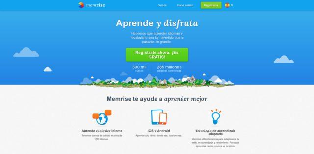 Memrise - aprende idiomas gracias a la educación online