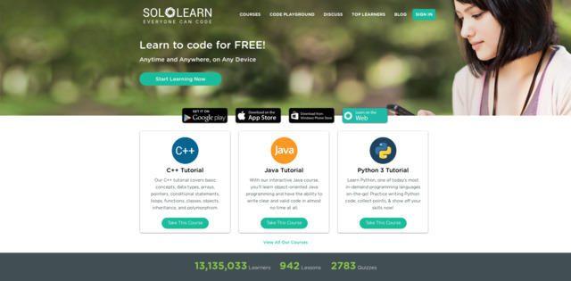SoloLearn - aprender programación en línea gratis
