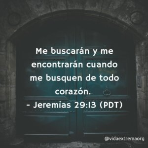 Jeremías 29:13