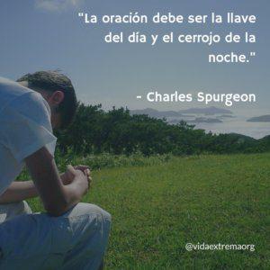 Frase de Charles Spurgeon sobre la oración