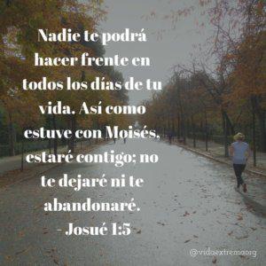 Josué 1:5