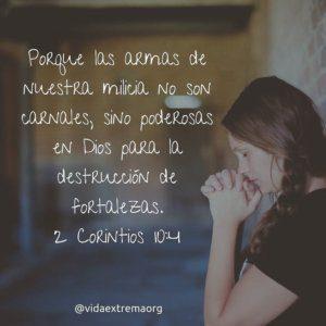2 Corintios 10:4