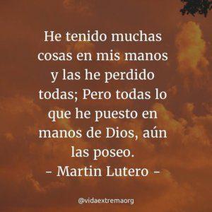 Martin Lutero sobre las posesiones