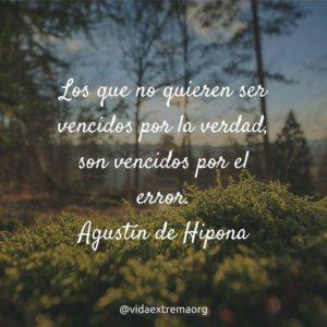 Frase de Agustin de Hipon sobre la verdad
