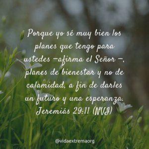 Jeremiás 29:11