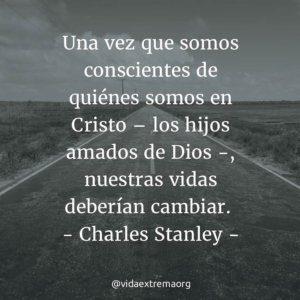 Frase de Charles Stanley sobre identidad cristiana