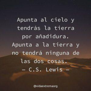 Frase de C. S. Lewis sobre la eternidad con Jesucristo