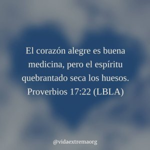 Proverbios 17:22