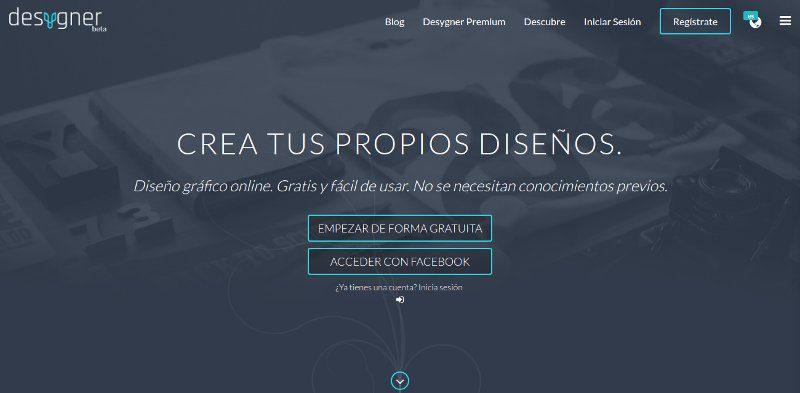 Desygner diseño gráfico online
