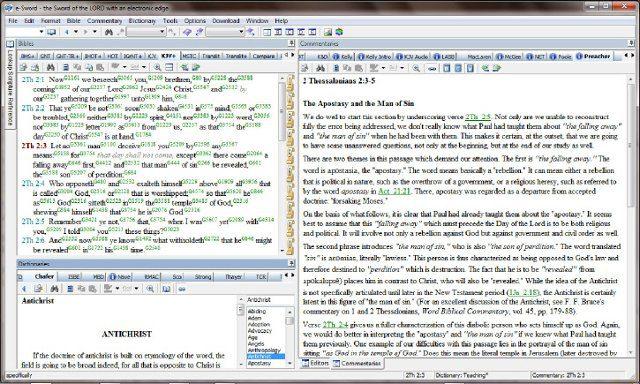 Diccionario bíblico cristiano en e-Sword