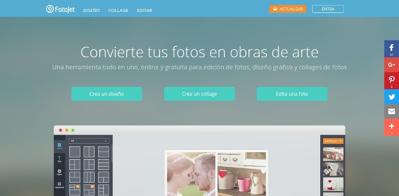 Fotojet diseño gráfico online