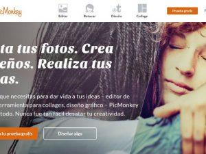 Picmonkey diseño gráfico online