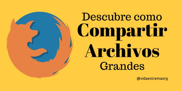 Compartir archivos grandes