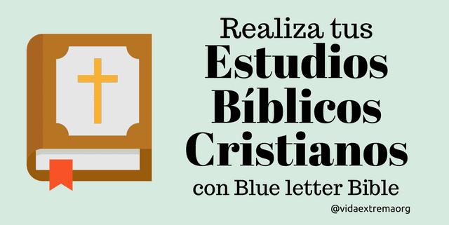 Estudios bíblicos cristianos