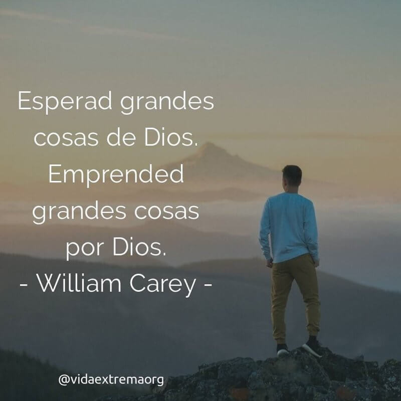 William Carey - Frases cristianas