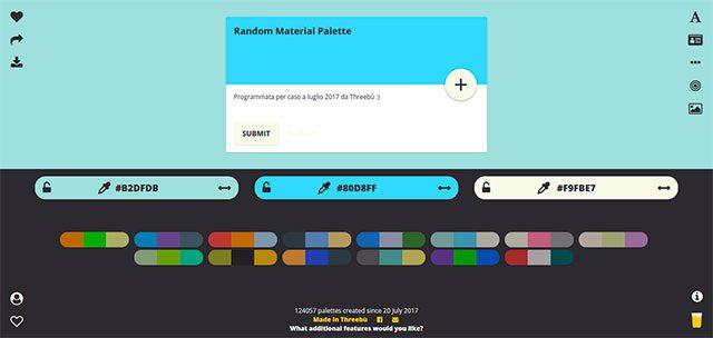 paleta de colores html