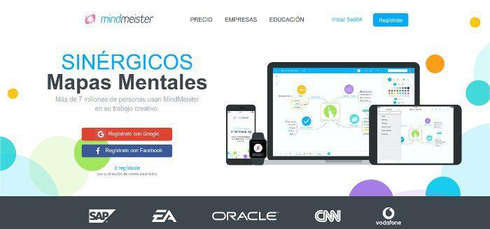 MindMeister - Pizarras virtuales