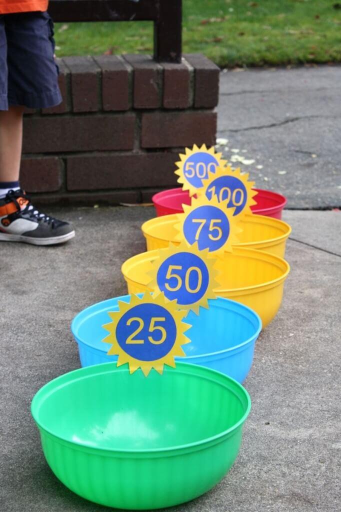 Lanzamiento de globos con agua - Actividades para jóvenes cristianos