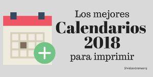 Colección de calendarios 2018
