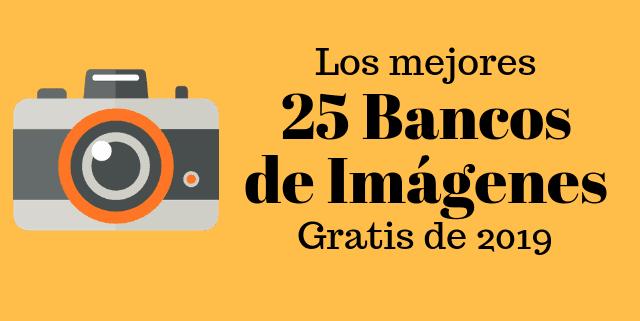 Bancos de imágenes gratis ¡La colección definitiva 2019!